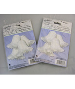 """Decorations Wedding Bells Shower Lot of 8 White Honeycomb Tissue Paper 7"""" - $19.99"""