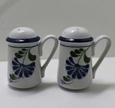 Vintage Set of Range Top Floral Salt & Pepper Shakers - $11.00