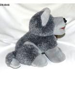 "Sugar Loaf  Gray Shephard  9 1/2"" Dog Plush Toy - $14.00"