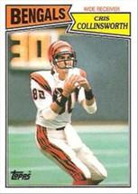 1987 Topps #188 Cris Collinsworth -Cincinnati Bengals- - $2.25