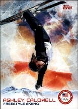 2014 Topps U.S. Winter Olympics  #97 Ashley Caldwell -Freestyle Skiing- - $2.22