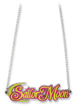 Sailor Moon Big Logo Necklace GE80524 *NEW* - $13.99