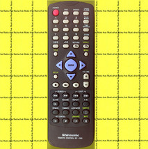 Shinsonic RC-380 DVD REMOTE RC380 to DVD-100 DVD-100A Player (Samsung?) ... - $12.95