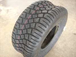 Tire 15x6.00-6, 4 Ply, Heavy Duty Tubeless for Lawn Mower, 160-505 - $28.02