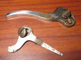 Wards Brunswick National Sewing Machine Thumb Lifter Bar & Tension Release Lever - $9.00