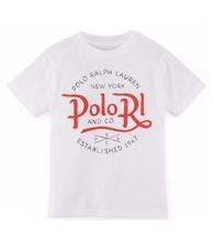 "Ralph Lauren Boys ""Polo RL and Co"" Short Sleeve Graphic Tee T-Shirt - $15.00"