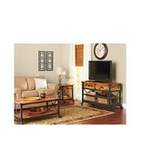 Rustic Furniture Set Vintage TV Stand Living Room Coffee Table End Den R... - $749.98