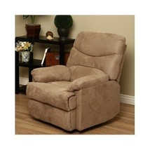 Tan Recliner Chair Reclining Furniture Modern Decor Home Living Family R... - $327.98