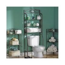 Vintage Bathroom Shelf Over Toilet Spacesaver Wire Shelves Cabinet Rack ... - $116.78