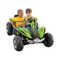 Power Wheels Toy Kids Green Dune Racer 12V Battery Powered Ride Car Go Cart New - $349.88