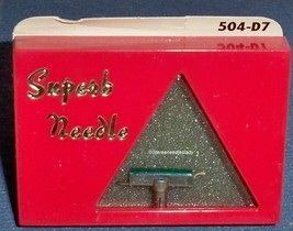 SUPERB Diamond Needle 504-D7 Stereo and Mono for GE ST-5 ST-7D GC -7 GC-5 CL-7 image 1