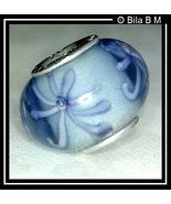 BLUE GLASS Charm Bead - $30.00