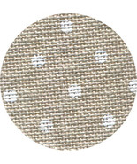 36ct Natural White Petit Point Edinburgh linen 36x27 cross stitch fabric... - $32.40
