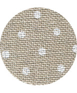 36ct Natural White Petit Point Edinburgh linen 18x27 cross stitch fabric... - $16.20