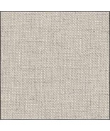 Mallow Raw 40ct Newcastle Linen 36x27 cross sti... - $32.40