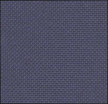 25ct Navy Lugana evenweave 36x27 cross stitch fabric Zweigart - $25.20