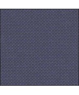 25ct Navy Lugana evenweave 18x27 cross stitch fabric Zweigart - $12.60