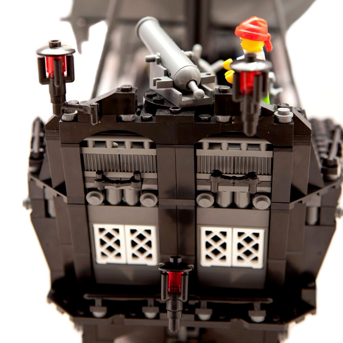 Toy Pirate Lego : Black pearl pirate ship lego compatible toy