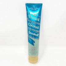 Bath & Body Works FROSTED COCONUT SNOWBALL Shea & Sparkle Scrub 6.1 oz NEW - £10.76 GBP