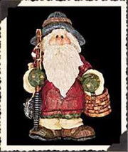 "Boyds Carvers Choice ""Nicholas Tacklebox w/Bobber"" Resin FolkArt Pin~#370510-New - $9.99"