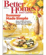 Better Homes and Gardens Magazine June 2012  Summer Made Simple - $6.00