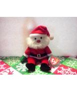 "TY BEANIE BABIES 1998 CHRISTMAS SANTA CLAUS PLUSH 9"" TALL WITH TAGS! - $7.00"