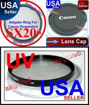 67mm Filter Adapter UV Lens Cap Canon Powershot... - $22.71
