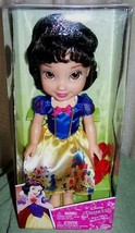 "Disney SNOW WHITE Toddler Doll 14""H New - $34.50"