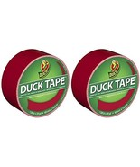 Duck Brand 1265014 Color Duct Tape, Red, 1.88 Inches x 20 Yards, Single ... - $40.57