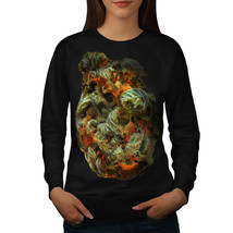 Smelly Weed Bud Rasta Jumper Smoke Women Sweatshirt - $18.99