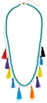 "Rebecca Minkoff SofiaTassel Layering Necklace, 30"" + 4"" Extender - $91.28"