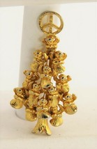 60s VINTAGE Jewelry HTF MV SIGNED HOST OF ANGELS CHRISTMAS TREE BROOCH P... - $65.00
