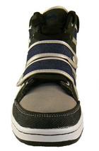 Public Royalty Nero Blu Zaq Alto Top Jeans Sneaker Scarpe Nib image 2