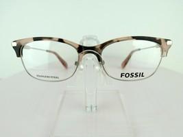 Fossil FOS 6055 (OIN) Palla Blush Tortoise 52 X 17 145 mm Eyeglass Frames - $47.96