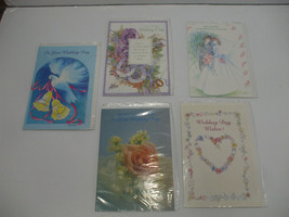 Wedding Day Best Wishes Cards Envelopes Included 5 To Choose From - $1.95