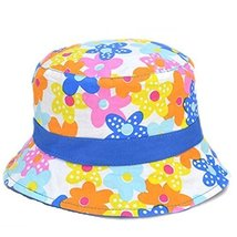 Summer Sun-resistant Flower Pattern Comfortable Cotton Infant Hat Baby Cap