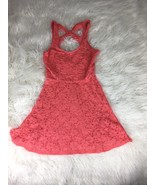 Jessica Simpson Womens Orange Dress Size M - $19.78