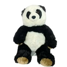 "Build A Bear Black White Panda Bear Plush BAB Stuffed Animal Retired 15"" - $30.38"