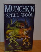 MUNCHKIN SPELL SKOOL ADVENTURE CARD GAME MISB SEALED STEVE JACKSON GAMES... - $11.63