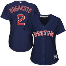 Women's Boston Red Sox #2 Xander Bogaerts Navy Blue Stitched Baseball ML... - €38,21 EUR