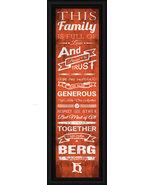 Heidelberg University 24 x 8 Family Cheer Framed Print - $39.95