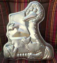 Big Bird Birthday Cake Pan Wilton Sesame Street  Vintage 1978 - $26.24