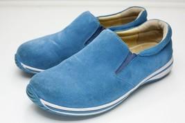 Alegria 9.5 Blue Suede Loafers Men's EU 43 - $42.00