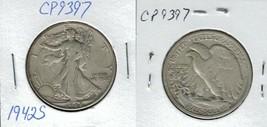 1943 S Walking Liberty Half Dollar Actual Photo of Coin CP9397 - $9.95