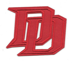 Marvel Comics Daredevil Interlocking DD Red Logo Embroidered Patch NEW UNUSED - $7.84