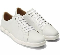 Cole Haan Grand Crosscourt II White Leather Sneaker Mens Size 9 New In Box! - $122.50