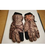 Huntworth Camouflage Heavy Warm Winter Thermal Polyester Gloves Size Medium - $18.50