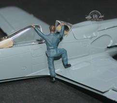 German Luftwaffe Ground Support Crew WW2 1:72 Pro Built Model #1 - $7.91