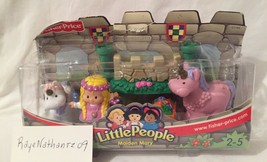 Little People Lil Kingdom Castle Maiden Mary Set 2003 New - $30.68