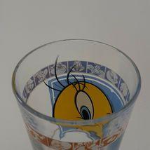 "1999 Warner Bros 5 3/4"" Looney Tunes Tweety Bird Drinking Glass image 5"